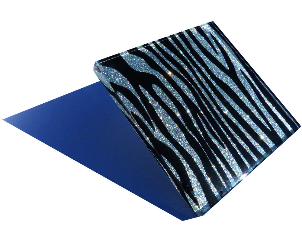 Delicious Diamond Zebra Coasters 2-pack