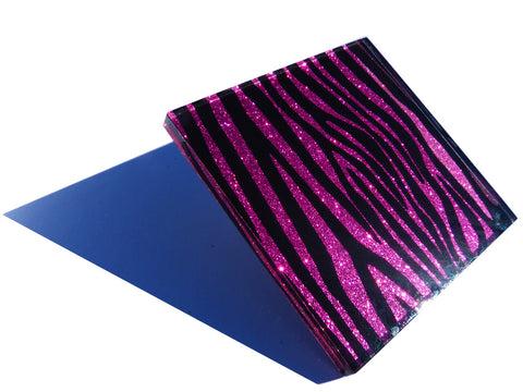 Purple Rain Zebra Tiles (large)