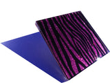 Purple Rain Zebra Coasters 4-pack