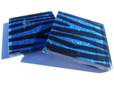 Blue Bombshell Zebra Tiles (small)