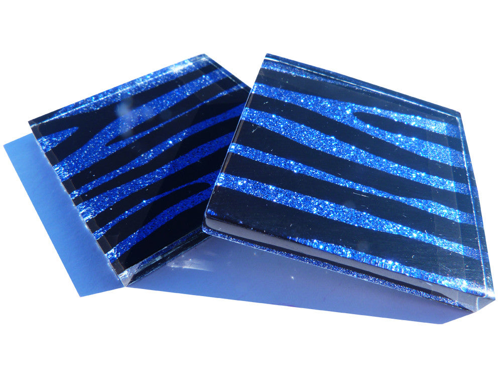 Sultry Sapphire Zebra Tiles (small)