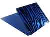 Sultry Sapphire Zebra Tiles (large)