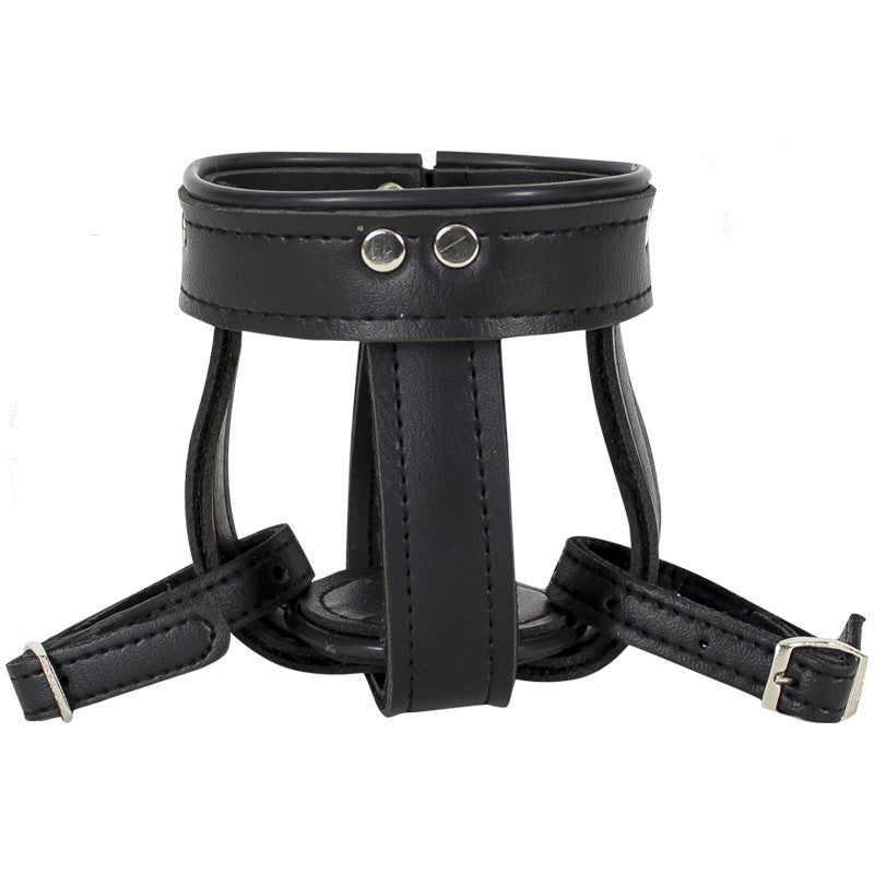 Motorcycle Cup Holder With Leather Straps