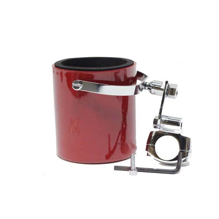 Burgandy Motorcycle Cup Holder
