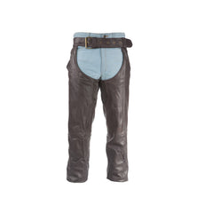 Brown Leather Chaps