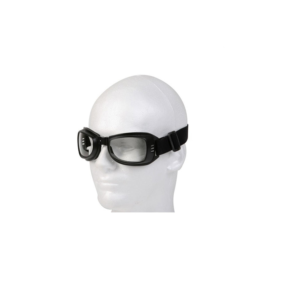 Riding Goggles With Clear Lens