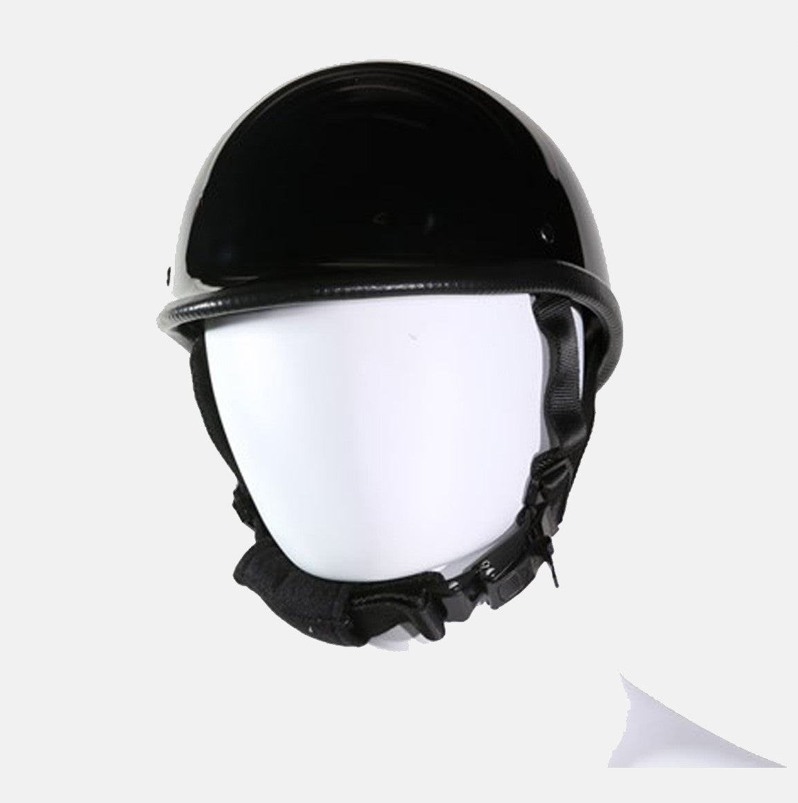 JOCKEY STYLE RIDING HELMET BLACK COMFORTABLE