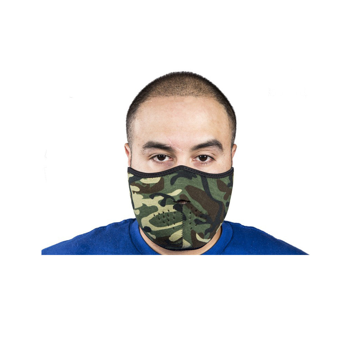 Camouflage Motorcycle Face Mask