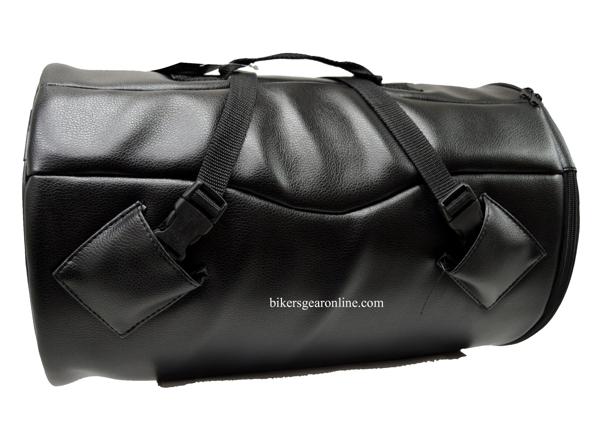 PVC SISSY HARD ROLL TRAVEL DUFFLE BAG