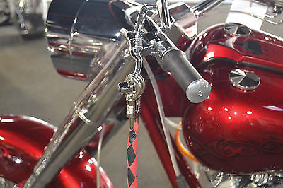 Black Amp Red 42 Quot Leather Get Back Whip Bikerswearonline