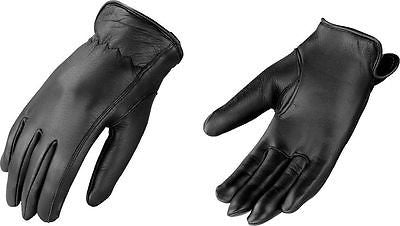 WOMEN'S GENUINE LEATHER AMERICAN DEER SKIN GLOVES THINSULATE LINING WARM BLACK