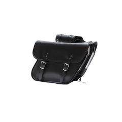 Motorcycle Saddlebag With Hard Sheet Inside & No Studs