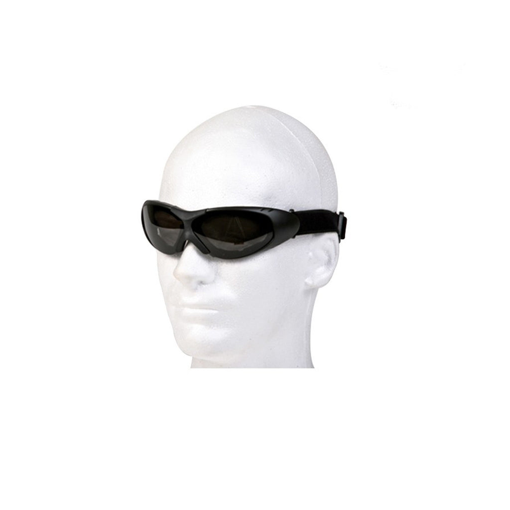 Motorcycle Goggles With Smoked Lens