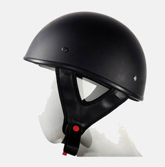 DOT APPROVED FLAT HALF RIDING HELMET