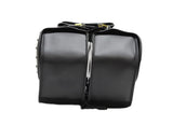 TWO PIECE MOTORBIKE STUDDED SADDLEBAG ZIP OFF PVC