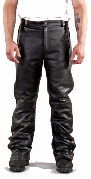 Mens Chap & Pants With Zipper