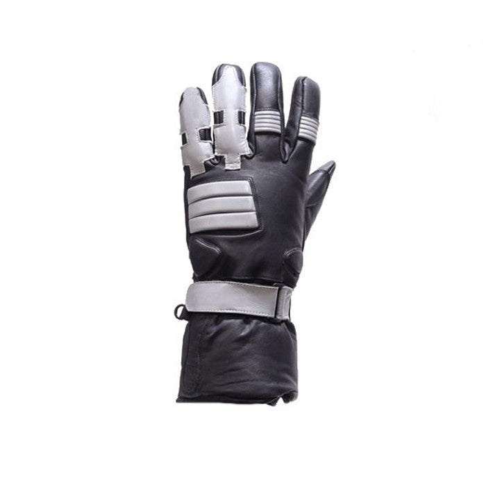 Full Finger Motorcycle Gloves With Gel & Velcro Strap