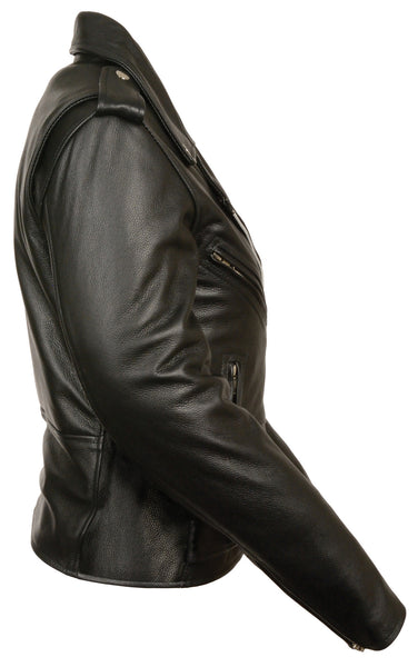 Women S Motorcycle Classic Traditional Police Leather