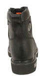 LADIES MOTORBIKE BOOTS REAL LEATHER LACE TO TOE RIDING BOOT