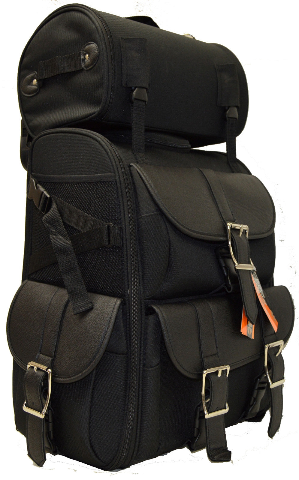 LARGE SISSY BAR TRAVEL BAR BAG TRAVEL LUGGAGE NEW BLACK