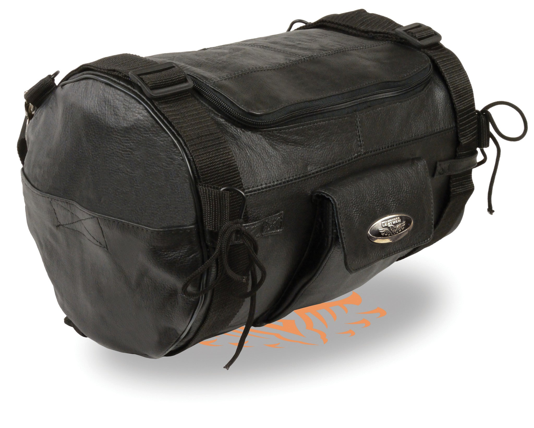 REAL LEATHER SISSY T BAR BAG TRAVEL BAG