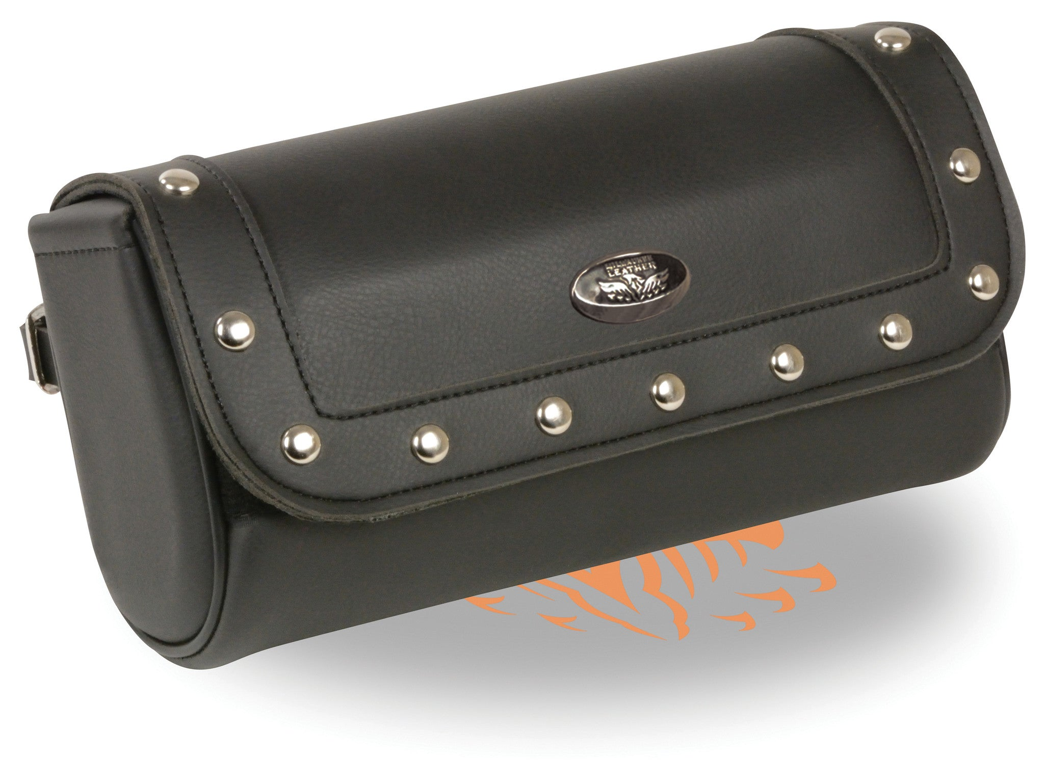 PVC MEDIUM RIVETED TOOL BAG W/ VELCRO CLOSURE