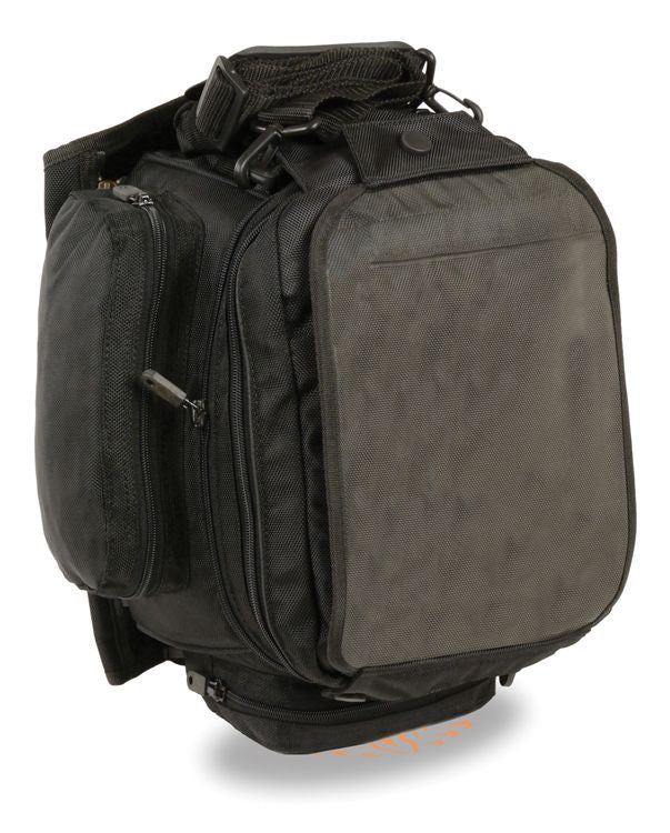 EXTRA LARGE MAGNETIC TANK BAG NYLON BACK PACK