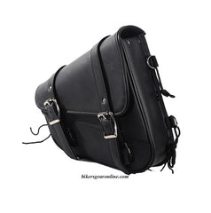 2 STRAP RIGHT SIDE SWING ARM PVC SADDLEBAG