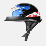 200 DOT APPROVED HELMET W/ EAGLE GRAPHICS COMFORTABLE