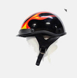 200 DOT APPROVED HELMET W/ FLAME GRAPHICS