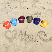 LOVE THE SEA <BR> Original Trucker Hat <br><small><i> (More Colors Available) </small></i> - The Shop Laguna Beach