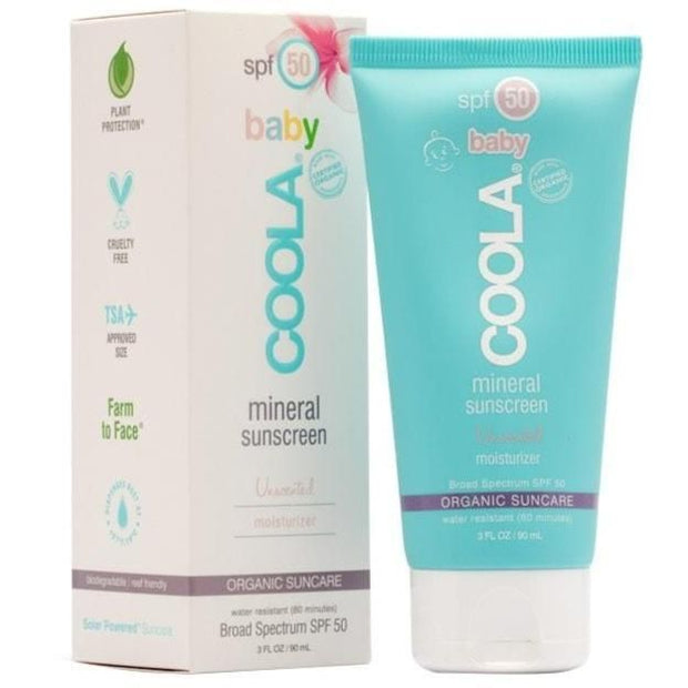 COOLA  SPF50 Baby Mineral Unscented Sunscreen 3 oz. - The Shop Laguna Beach