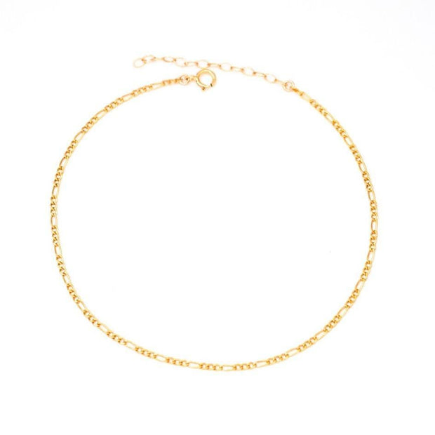 MAY MARTIN <br> Figaro Link Anklet - The Shop Laguna Beach