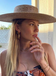 MAY MARTIN <br> Mayson Gold-Dipped Hoops - Multiple Sizes - The Shop Laguna Beach