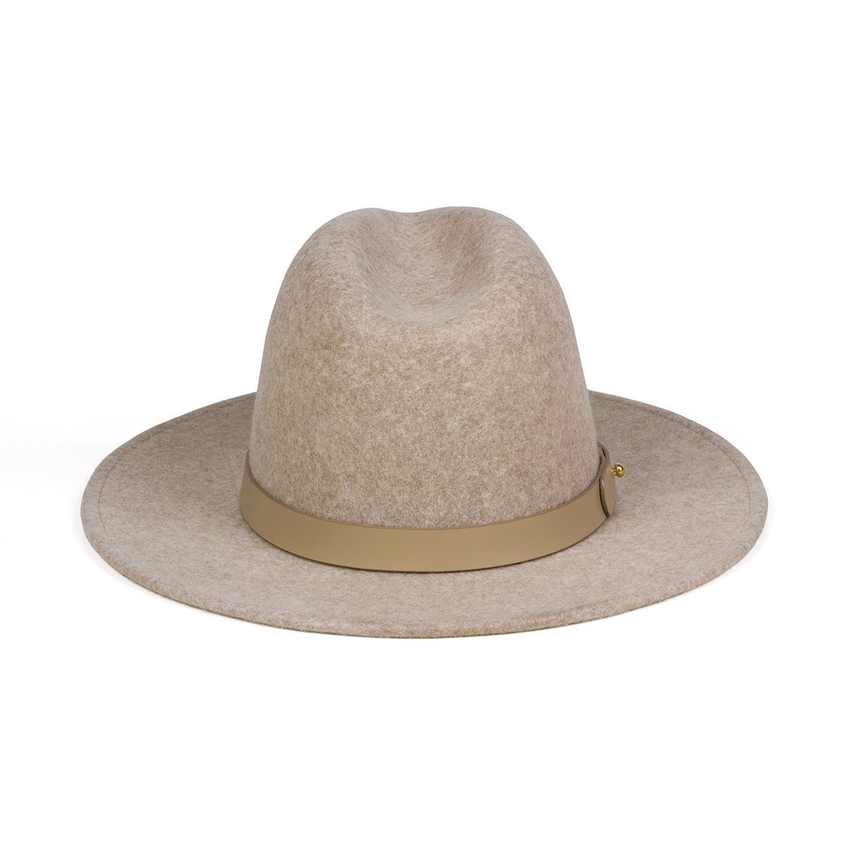 LACK OF COLOR Carlo Mack Hat Speckled Light Brown