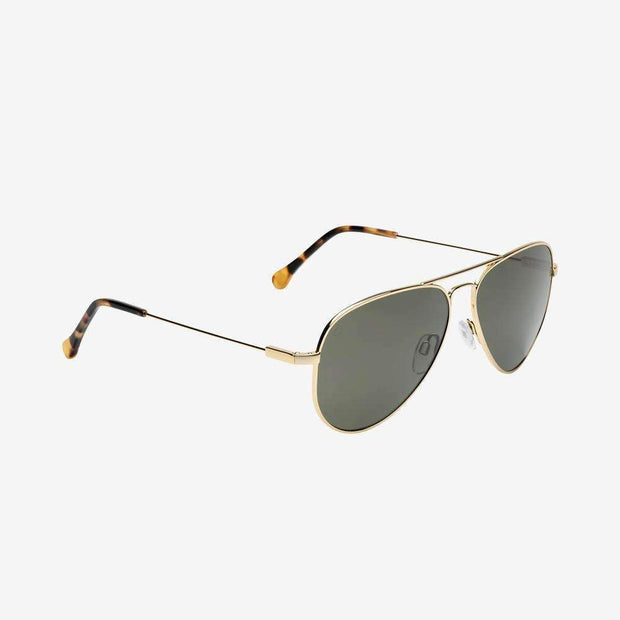 ELECTRIC WOMEN'S AV1 Polarized Sunglasses • Shiny Gold/Grey Polarized