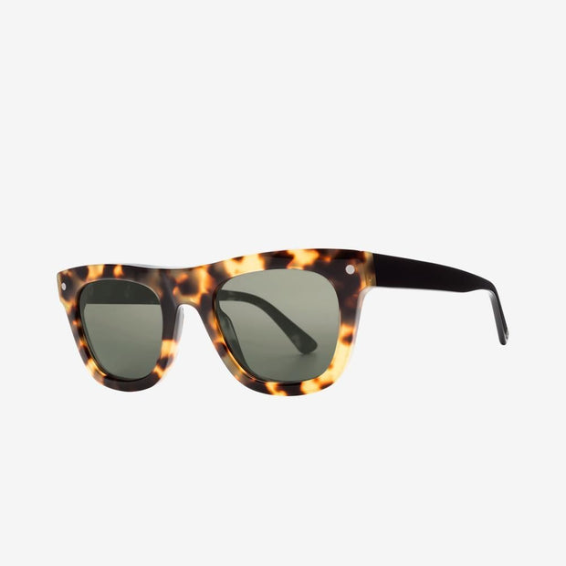 ELECTRIC WOMEN'S Cocktail Polarized Sunglasses // Gloss-Spotted Tort-Black