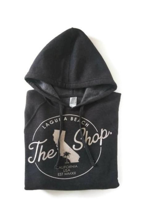THE SHOP CLASSIC Pullover Hoodie Carbon Black