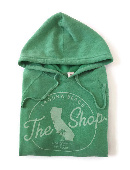 THE SHOP LAGUNA • Classic Pullover Soft Hoodie KELLY GREEN