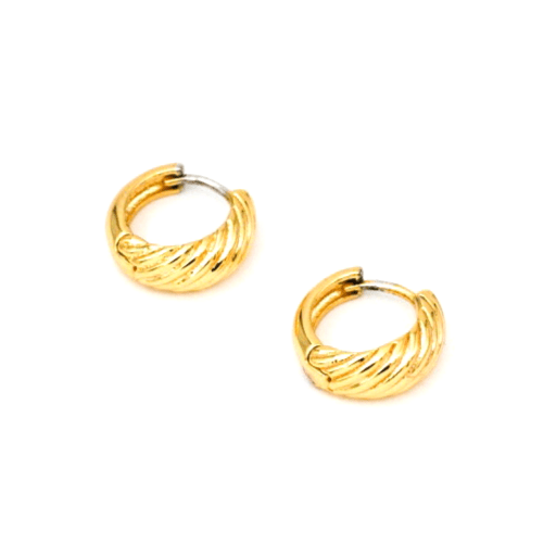 MAY MARTIN <BR> C'est Hoop Earrings - The Shop Laguna Beach