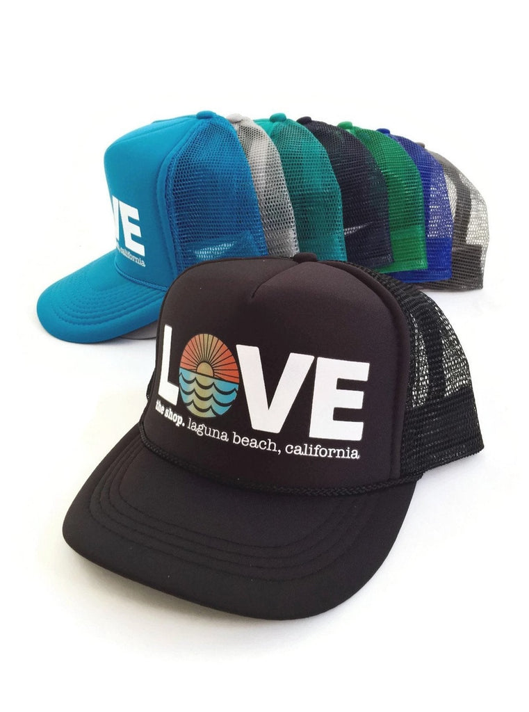 LOVE THE SEA<BR>Original Trucker Hat