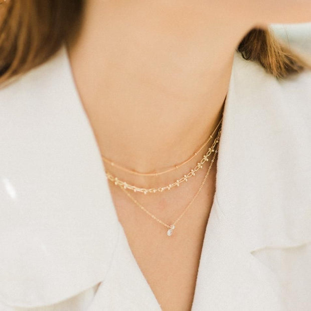 MAY MARTIN  Mae Gold-Dipped Choker - The Shop Laguna Beach