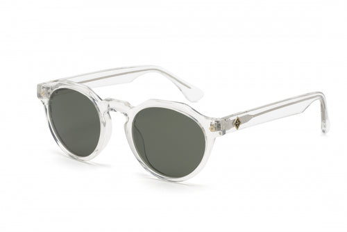 WONDERLAND SUN Fontana Sunglasses Clear Green CZ
