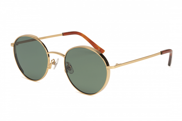 WONDERLAND <BR> Redlands Metal Sunglasses - The Shop Laguna Beach