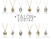 TALON NYC <BR> 14kt Gold-Plated Pendant Zodiac Necklace