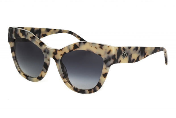 WONDERLAND SUN Zzyzx Sunglasses Cookies and Cream