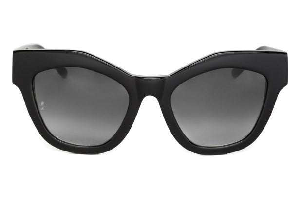 WONDERLAND SUN Zzyzx Sunglasses Gloss Black