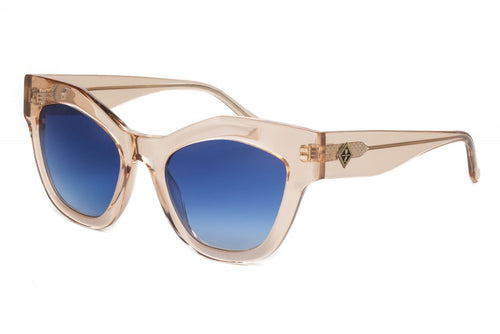 WONDERLAND SUN Zzyzx Sunglasses Rose Crystal