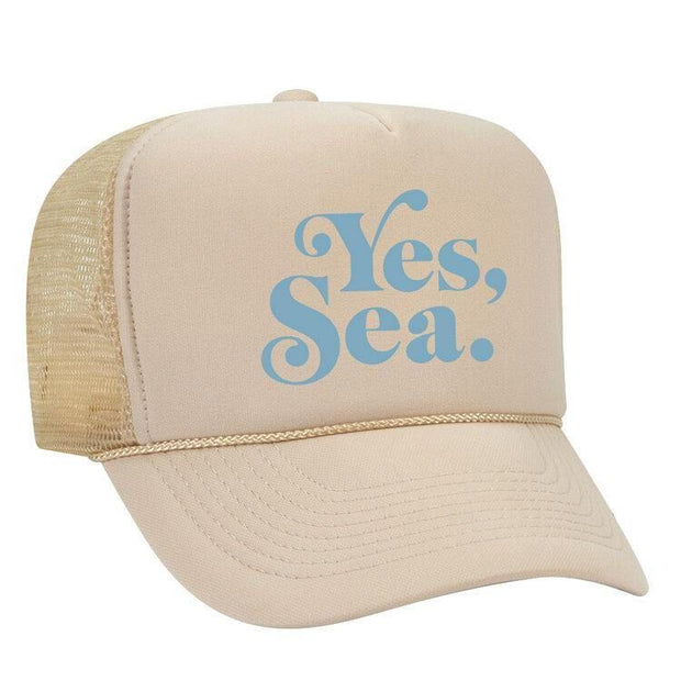 DANIELLA MANINI <br> Yes, Sea. Trucker Hat-The Shop Laguna Beach