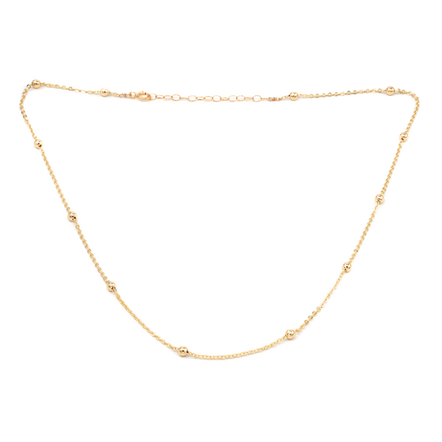 MAY MARTIN  Cora Dotted Bead Necklace - The Shop Laguna Beach